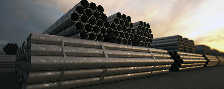 Structural Steel Pipes : Structural steel pipe products for any industry midway
